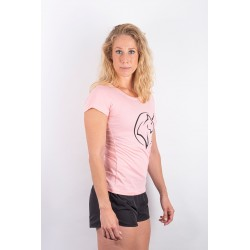 Training t-shirt pink UNICORN for women - URBAN CROSS