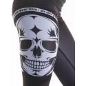Legging noir Femme Crossfit  - Big Skull