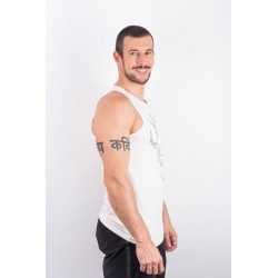 Training tank white POLYGON DEER for men - URBAN CROSS