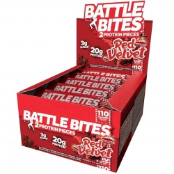 Pack of 12 protein bars + Red Velvet - BATTLE OATS