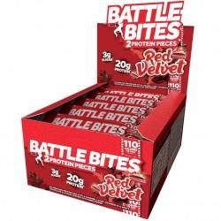 Pack of 12 protein bars + Red Velvet | BATTLE SNACKS
