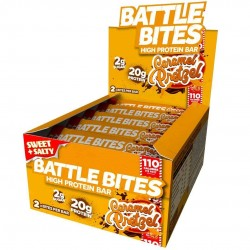 Pack of 12 protein bars + CARAMEL PRETZEL - BATTLE OATS
