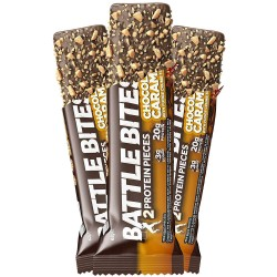 Barre protéinée + Chocolate Caramel | BATTLE SNACKS