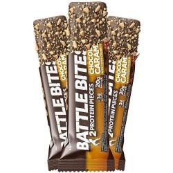 Protein bars + Chocolate Caramel | BATTLE SNACKS
