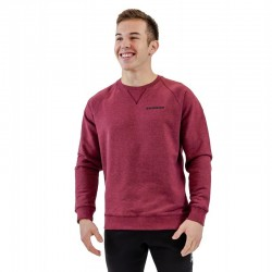 Sweat-shirt red wine BIO for men - THORUS