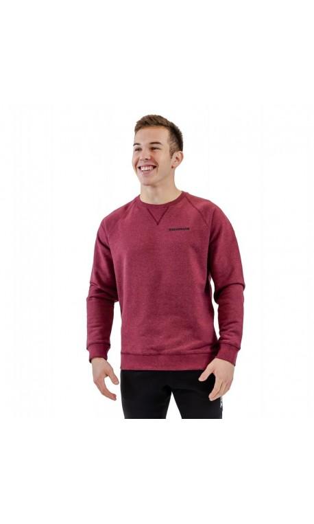 Sweat-shirt red wine BIO for men - THORUS