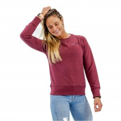 Sweat-shirt red wine BIO for women - THORUS