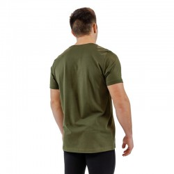 T-shirt green khaki BIO for men - THORUS