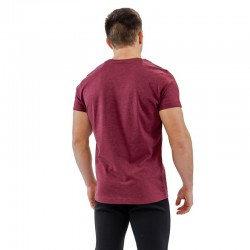 T-shirt red wine BIO for men - THORUS