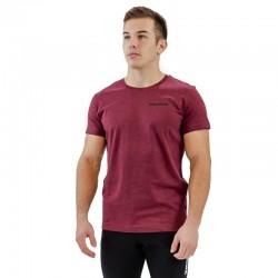 T-shirt homme rouge bordeaux BIO pour athlète by THORUS WEAR