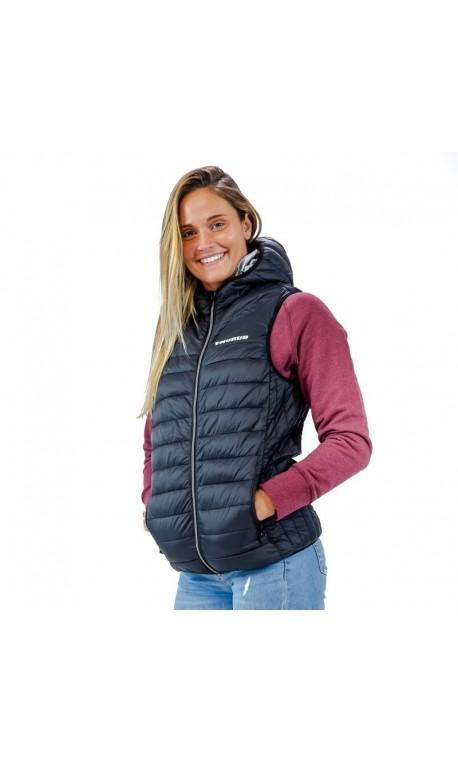 Unisex sleeveless black jacket - THORUS