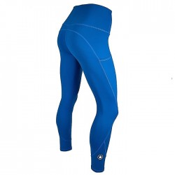 Training legging blue ATLANTIS for women - SAVAGE BARBELL