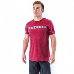 T-shirt red wine Classic for men - THORUS