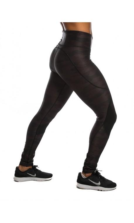 Training legging black CAMOUFLAGE for women - NORTHERN SPIRIT