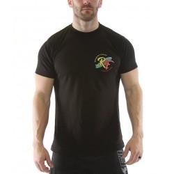 T-Shirt Homme Noir THE HENG TEN pour Athlète by ROKFIT
