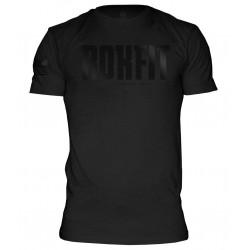 T-Shirt Homme Noir LOGO FLAG pour Athlète by ROKFIT
