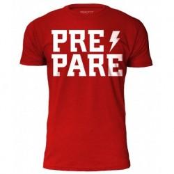 T-Shirt Homme Rouge PREPARE pour Athlète by ROKFIT