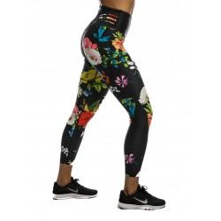 Training legging 7/8 jigh waist multicolor OLGA GRANDMADRESS for women - NORTHERN SPIRIT