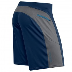 Short homme Bleu navy cool grey HELIX II | HYLETE