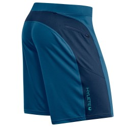 Training short blue agean navy HELIX II for men| HYLETE