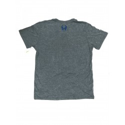 T-shirt grey TRIBLEND CREW HEATHER GRAY AGEAN for men| HYLETE
