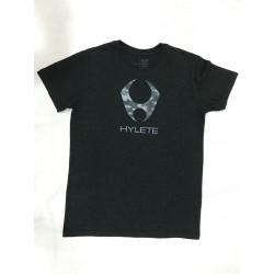 T-Shirt Homme Noir TRIBLEND CREW VINTAGE BLACK CAMO| HYLETE