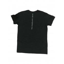 T-shirt black TRIBLEND CREW VINTAGE BLACK CAMO for men| HYLETE