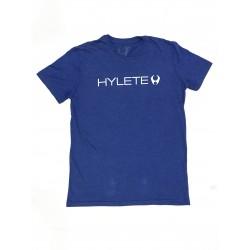 T-Shirt Homme Bleu TRIBLEND CREW VINTAGE ROYAL BLACK| HYLETE