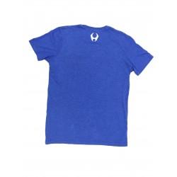 T-Shirt Homme Bleu TRIBLEND CREW VINTAGE ROYAL BLACK  HYLETE