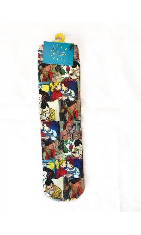 Chaussettes multicolores modèle 11 | SAMUI SOCKS