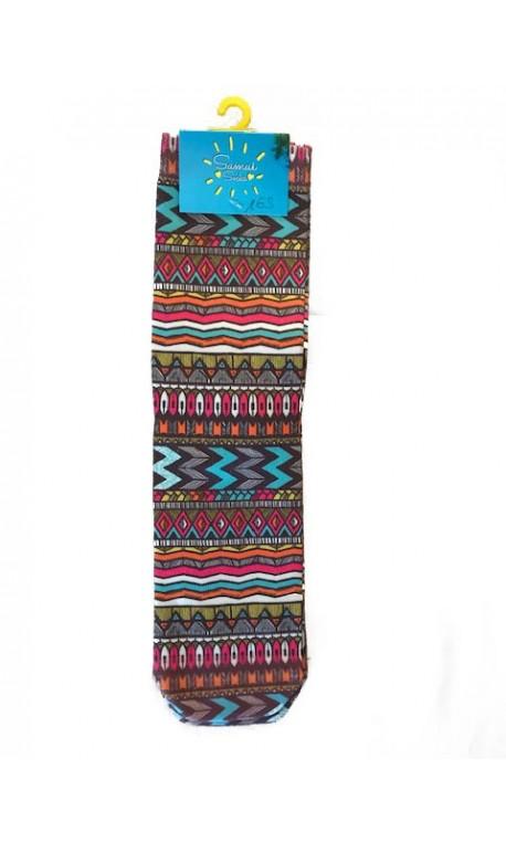 Chaussettes multicolores modèle 16   SAMUI SOCKS