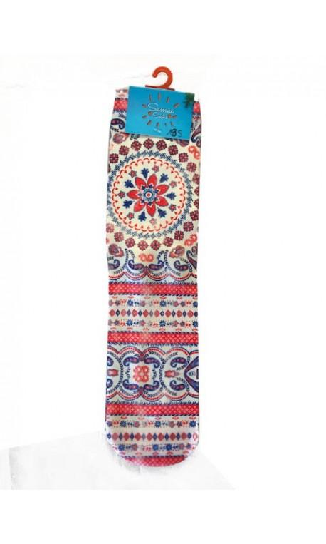 Chaussettes multicolores modèle 19   SAMUI SOCKS