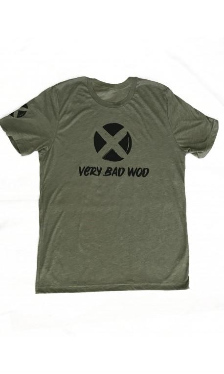 T-shirt green khaki ORIGINAL for men | VERY BAD WOD