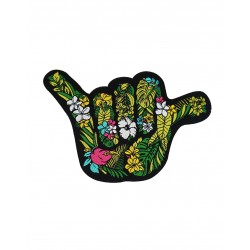 Velcro multicolor woven patch OHANA SHAKA | PROJECT X