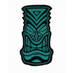 Patch Velcro brodé bleu TIKI | PROJECT X