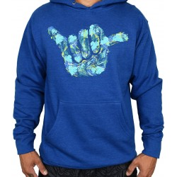 Unisex workout sweat blue ZAP SHAKA | PROJECT X