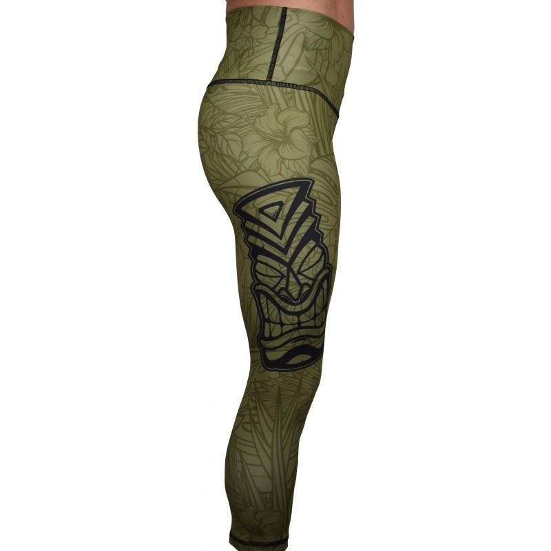 Legging entraînement 3/4 taille haute Femme PROJECT X vert ...