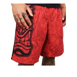 Training short HYBRID red TIKI for men | PROJECT X
