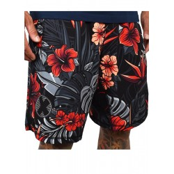 Short Homme rouge HYBRIDE FIREBISCUS| PROJECT X