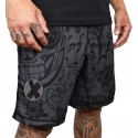 Training short HYBRID gris CHARCOAL DIA for men | PROJECT X