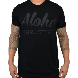 T-shirt black ALOHA THRUSTERS for men | PROJECT X