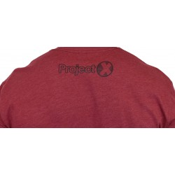 T-shirt red DIA DE LOS DEADLIFT for men | PROJECT X