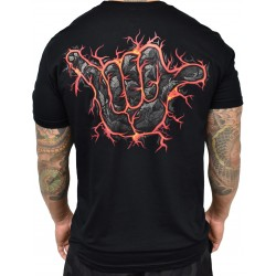 T-shirt black LAVA SHAKA for men | PROJECT X