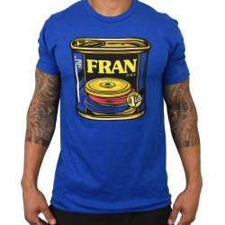 T-Shirt homme bleu 'CAN O' FRAN' | PROJECT X