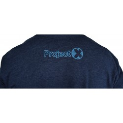 T-shirt blue FEATS OF STRENGTH for men | PROJECT X