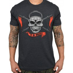 T-Shirt homme gris YE BE WARNED | PROJECT X