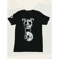T-shirt charcoal black CANIWOD for men   VERY BAD WOD