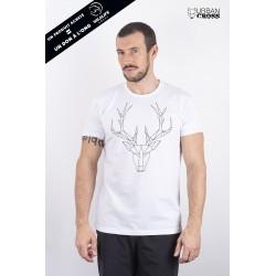 Training t-shirt white POLYGON DEER   URBAN CROSS
