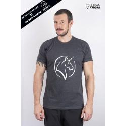 T-Shirt Homme Gris foncé LICORNE | URBAN CROSS
