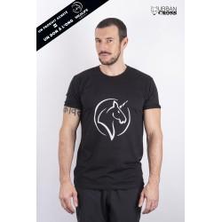 Training T-Shirt Black UNICORN for men   URBAN CROSS